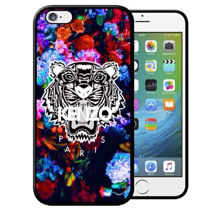 coque iphone 5 5s kenzo flowers swag vintage