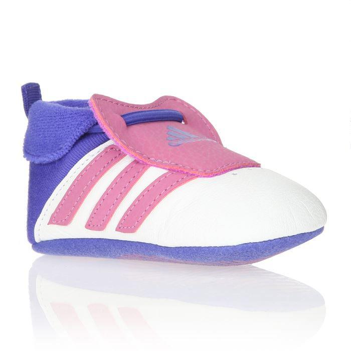 ADIDAS ORIGINALS Baskets Relino Crib Bébé Fille Blanc, rose et ...