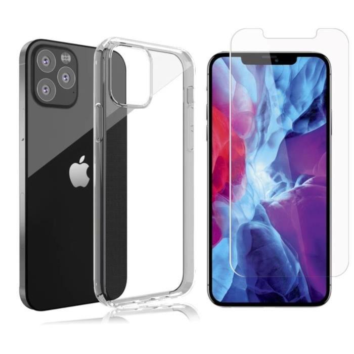 Coque verre trempé iPhone 12 PRO MAX (2020 - 6,7