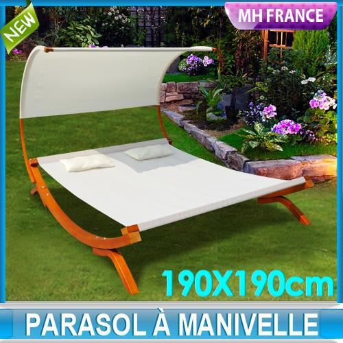 double bain de soleil transat longue lit de jardin achat. Black Bedroom Furniture Sets. Home Design Ideas
