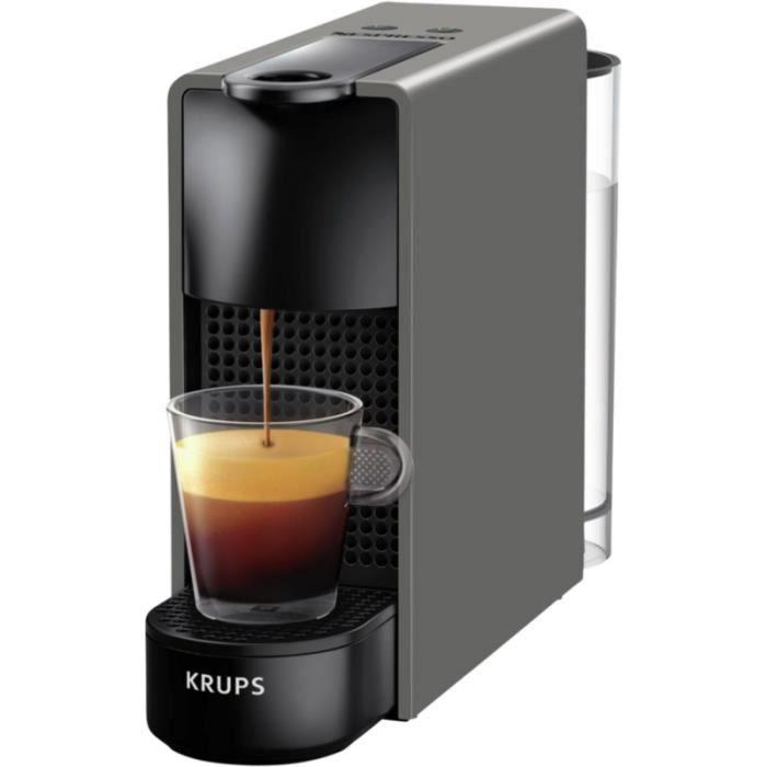 Nespresso Essenza 19 bar 1200 W Mini Machine à café par Krups-noir piano
