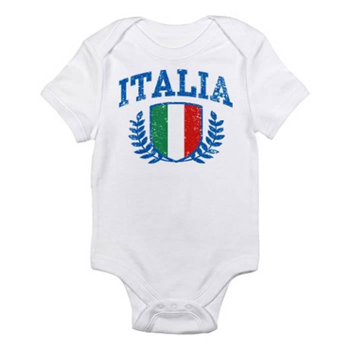 Body bebe tbaby0107 italia infant bodysuit blanc achat for Bebe italia