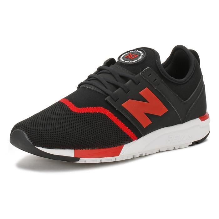 new balance homme rouge