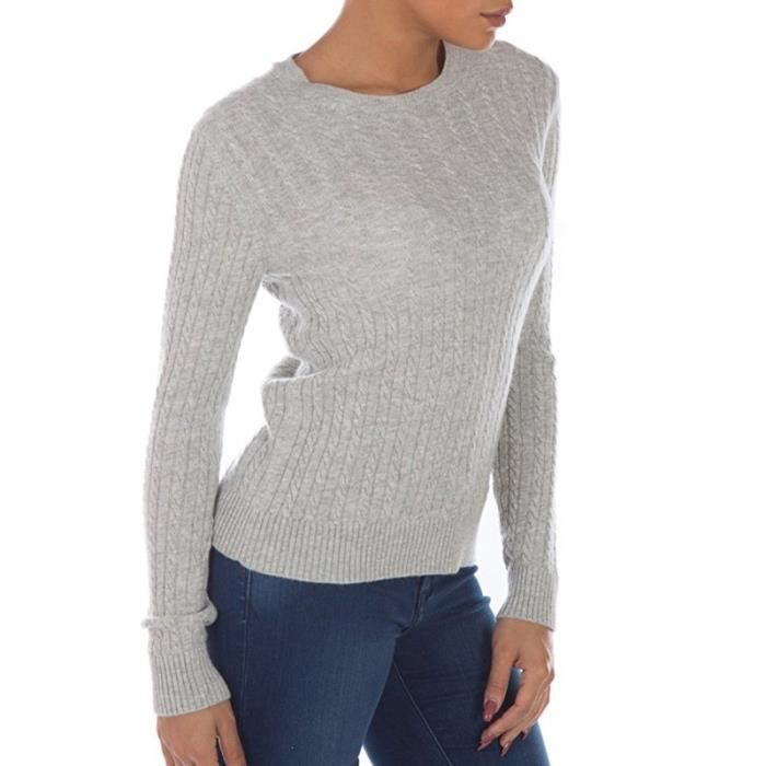 Pull Luxe Mini Cable Marine Femme Superdry Bleu Achat