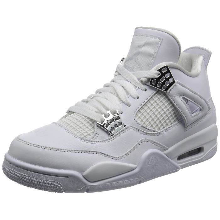 BASKET Nike Air Jordan Retro 4, Baskets homme WICFW