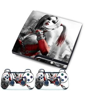 STICKER - SKIN CONSOLE Film Clown Dame Autocollant Peau Pour PS3 Slim Pla