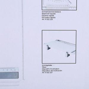 TABLE A DESSIN Tablette de table à dessin A3 multifonction avec r