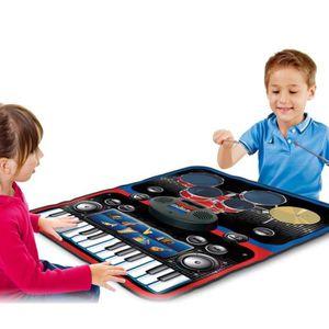 JEU CONSOLE ÉDUCATIVE Tapis de jeu musical éducatif pour enfants, batter