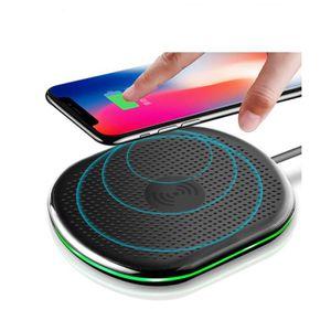 CHARGEUR TÉLÉPHONE Lamchin Qi Chargeur sans fil induction pour iPhone