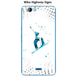 COQUE - BUMPER Coque Wiko Highway Signs design Lost in the sky Wh