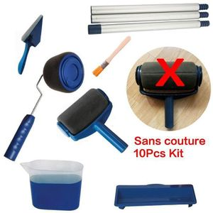 10pcs sans couture rouleau de peinture kit paint easy. Black Bedroom Furniture Sets. Home Design Ideas