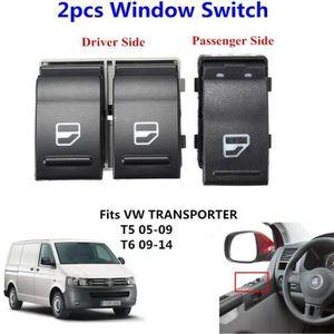 2x Électrique Lève vitre complet avant gauche droite pour Vw transporter t5 V