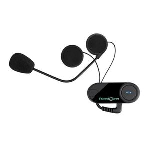 INTERCOM MOTO TOM-02 Intelligent Moto Casque Moto Bluetooth Orei