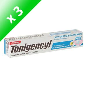 DENTIFRICE COLGATE Lot de 3 dentifrices Tonigencyl - Anti-tar
