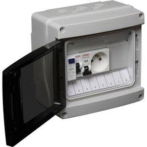 TABLEAU ÈLECTRIQUE DEBFLEX Tableau électrique pré-équipé pour abri de