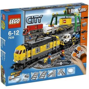 ASSEMBLAGE CONSTRUCTION LEGO® City 7939 Le Train De Marchandises
