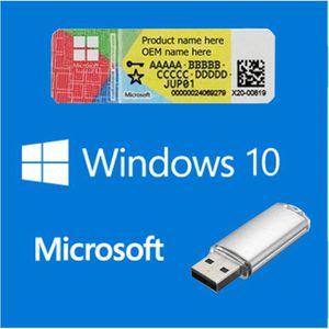 SYSTÈME D'EXPLOITATION Windows 10 home COA + USB