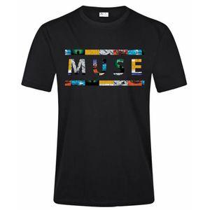 T-SHIRT Muse Logo Design Vetement Tee Shirt Homme Casual H