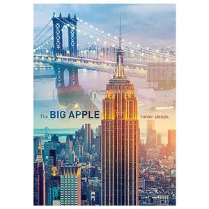 PUZZLE Puzzle 1000 pièces New York à l'Aube