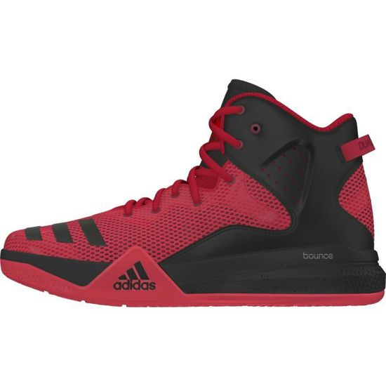 Montantes Cher Threat Rouge Prix Chaussures Ball Pas Adidas Dual B lJcFKT1