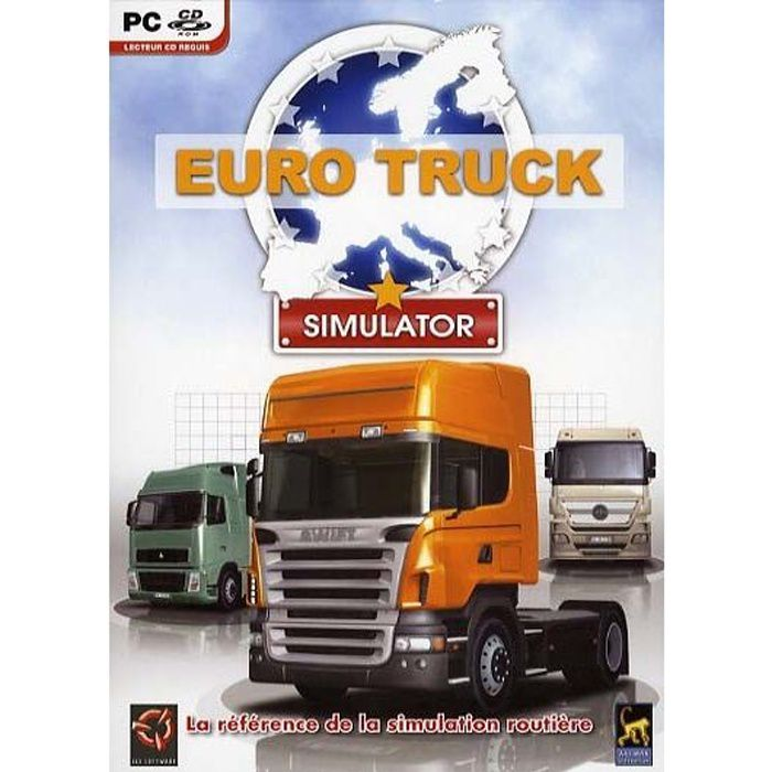 euro truck simulator jeu pc cd rom achat vente jeu pc euro truck simulator pc cd rom. Black Bedroom Furniture Sets. Home Design Ideas