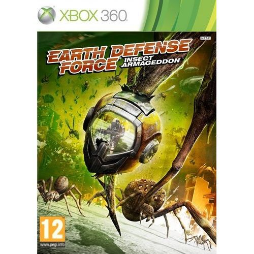 JEUX XBOX 360 EARTH DEFENSE FORCE - INSECT ARMAGEDDON / Jeu X360