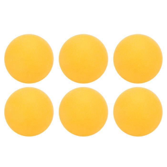 Qiilu Balles de ping-pong 6Pcs/Jeu REGAIL Balles de Tennis de Table en Plastique ABS 3 Étoiles pour Sports Entraînement de