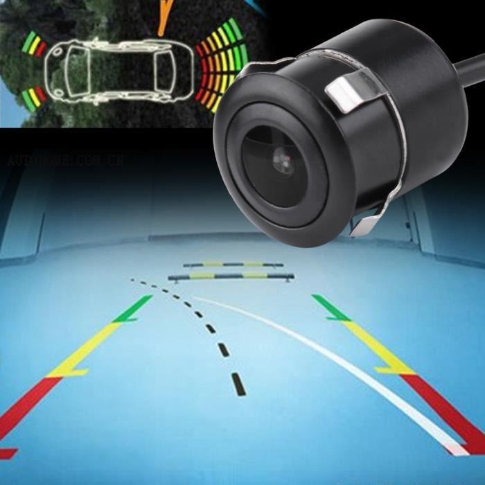 Aramox Caméra de recul, Version de nuit haute luminosité de 18,5 mm HD, caméra de recul Vue de recul de la caméra de recul Vue