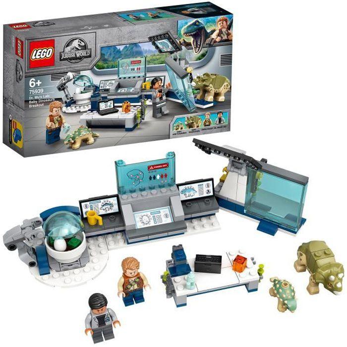 LEGO® Jurassic World™ 75939 Le labo de Dr Wu : l'évasion des bébés dinosaures