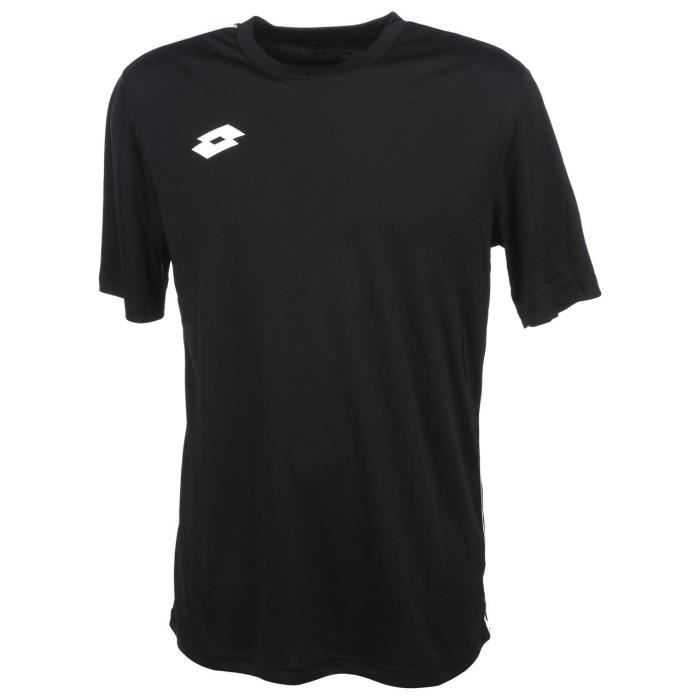 Maillot de football Delta maillot noir h - Lotto