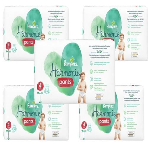 522 Couches Pampers Harmonie Pants taille 4