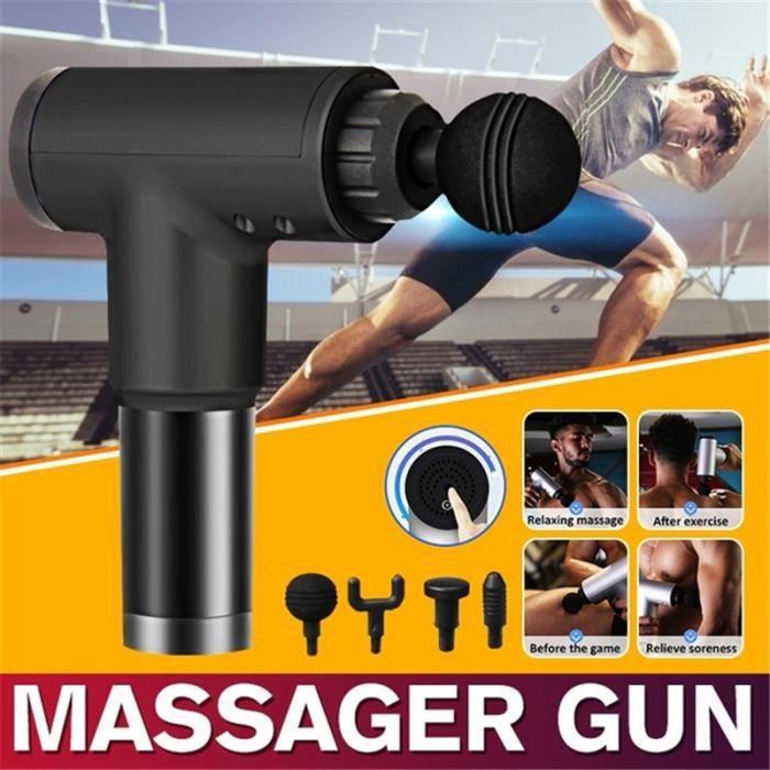 Pistolet de massage Muscle - Portables Massage sans fil pour les muscles profonds Tissu massage pour la relaxation complète corps