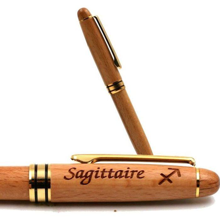 Sagittaire - Stylo Bois Personnalisé