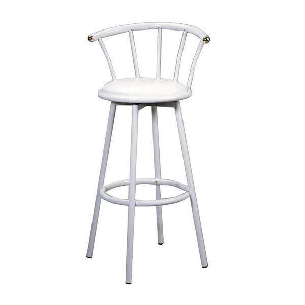 tabouret haut nice blanc achat vente tabouret cdiscount. Black Bedroom Furniture Sets. Home Design Ideas