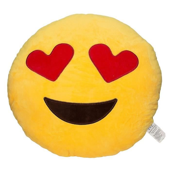 personalized toys32cm emoji smiley emoticon coussin rond jaune oreiller peluche peluche peluche. Black Bedroom Furniture Sets. Home Design Ideas