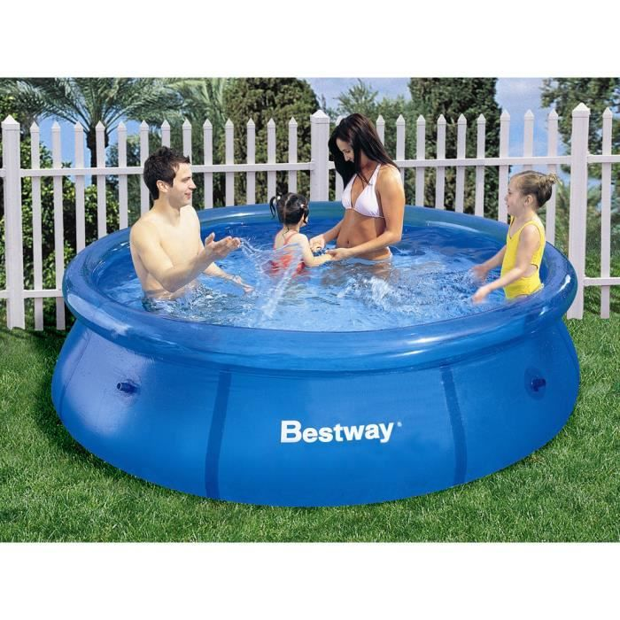 Piscine autoportante rond x achat vente for Piscine autoportante