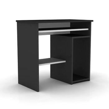 elmob computer desk cd 210 01 noir meuble pc achat vente bureau desk cd 210 01 noir meuble. Black Bedroom Furniture Sets. Home Design Ideas