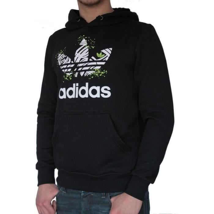 sweat a capuche adidas achat vente sweat a capuche adidas pas cher cdiscount. Black Bedroom Furniture Sets. Home Design Ideas