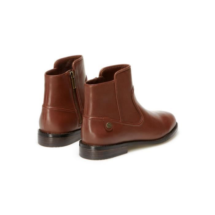 941a1d3075 BOTTINE LACOSTE FEMME MARRON Marron Marron - Achat / Vente bottine ...