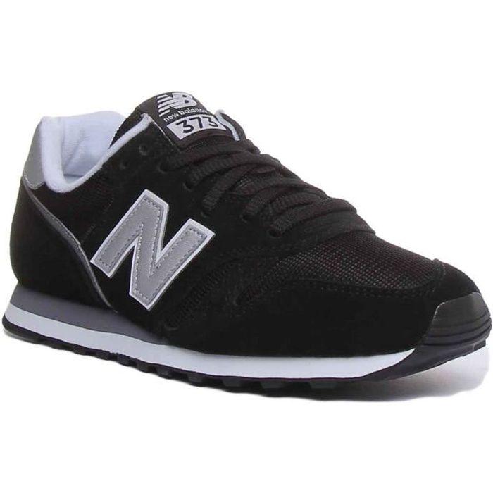 New Balance ML373CA2 Baskets à lacets unisexes noir et blanc ...