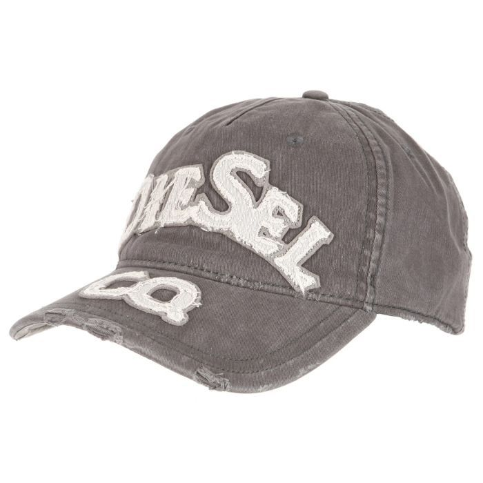 diesel casquette charlie homme marron et gris achat. Black Bedroom Furniture Sets. Home Design Ideas
