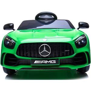 VOITURE ELECTRIQUE ENFANT Mercedes GTR 12v - Couleur:Vert
