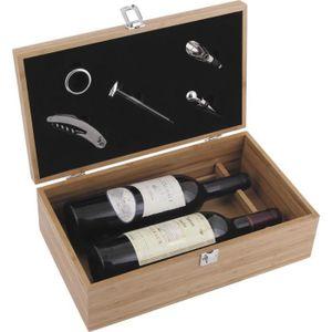 COFFRET SOMMELIER Coffret pour bouteille de vin