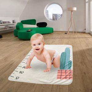 COUVERTURE - PLAID BÉBÉ Couverture pour bébé mensuel Milestone Mois du nou
