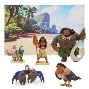 FIGURINE - PERSONNAGE Coffret de figurine Disney officiel VAIANA (tapis