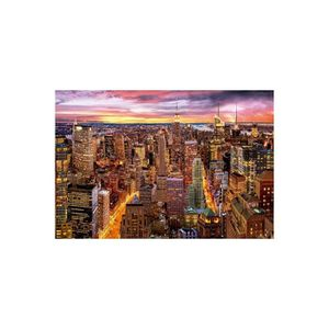 PUZZLE Puzzle Adulte : La Vue De Manhattan - 3000 Pieces