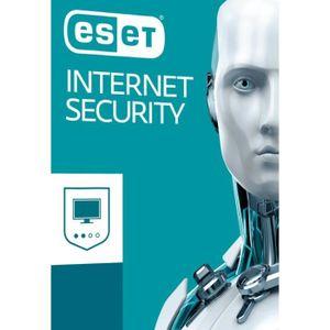 BUREAUTIQUE À TÉLÉCHARGER Eset Internet Security 2019 2 Postes / 1 An / Vers