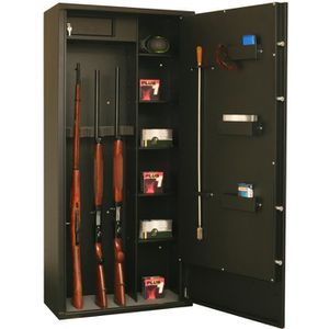 ARMOIRE À FUSIL Armoire forte  Delta 12 modulable 12 armes - 8 arm