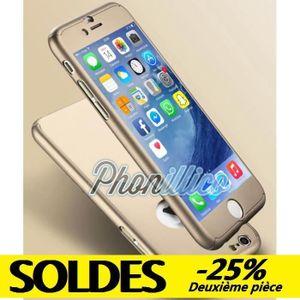 coque full or film verre trempe iphone 5 5s