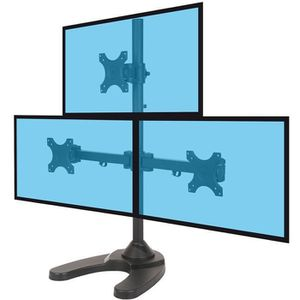 FIXATION ÉCRAN  Support de bureau pour 3 écrans PC 13''-27